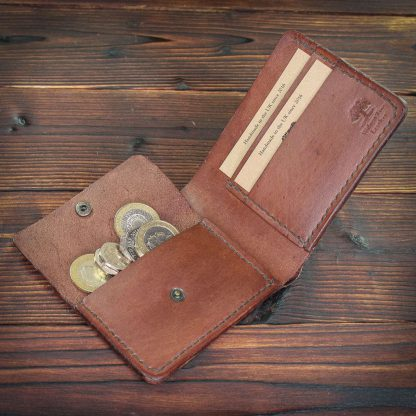 Bedford handmade leather wallet