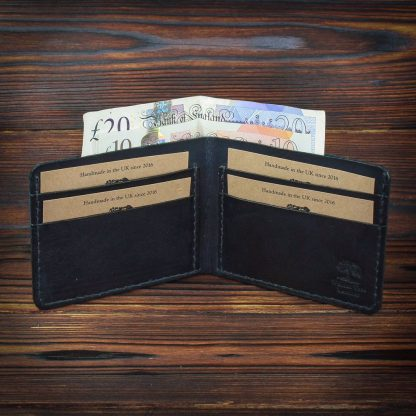 Exeter handmade leather wallet