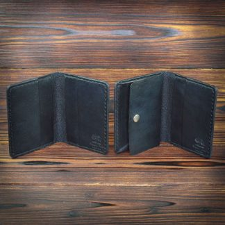 Worcester handmade leather travel wallet