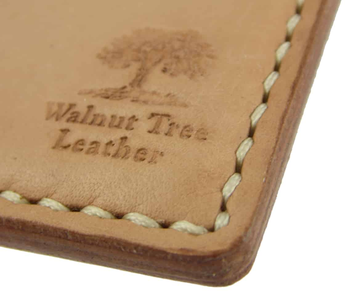 Hand sewn leather